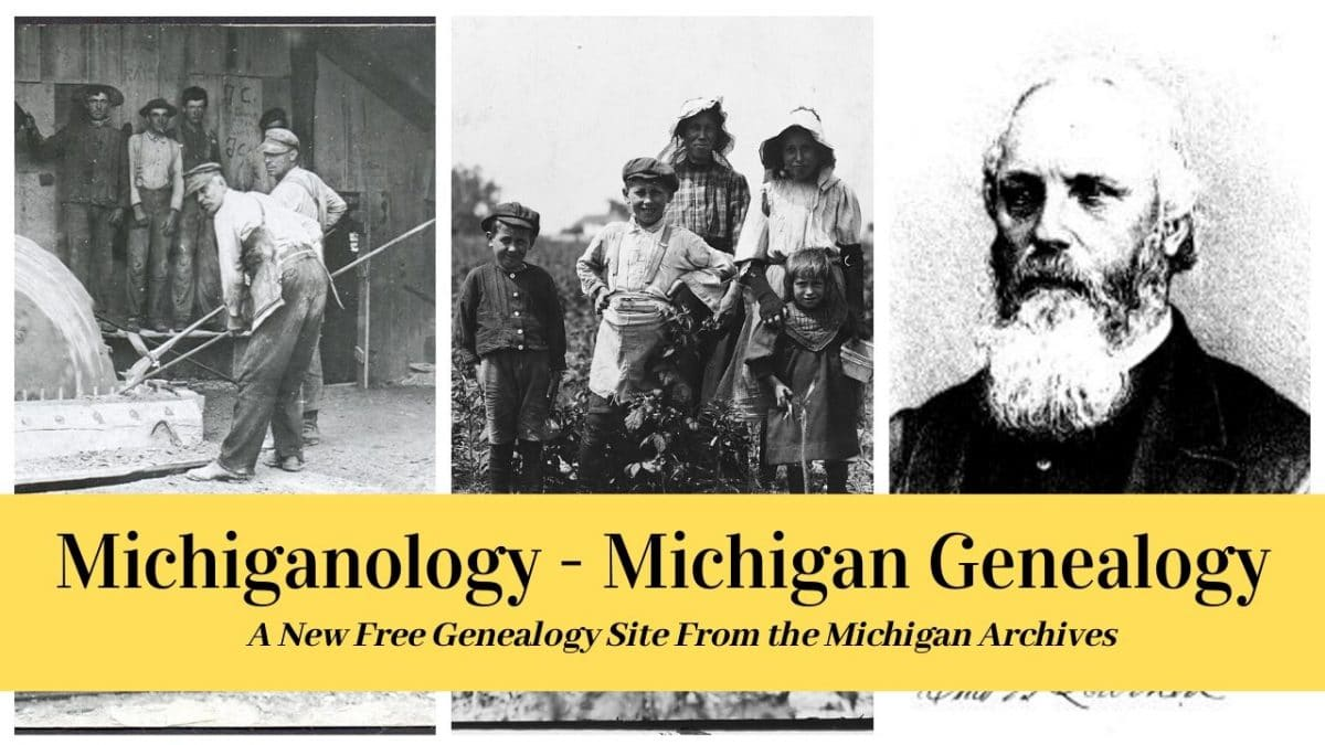 Michigan Genealogy