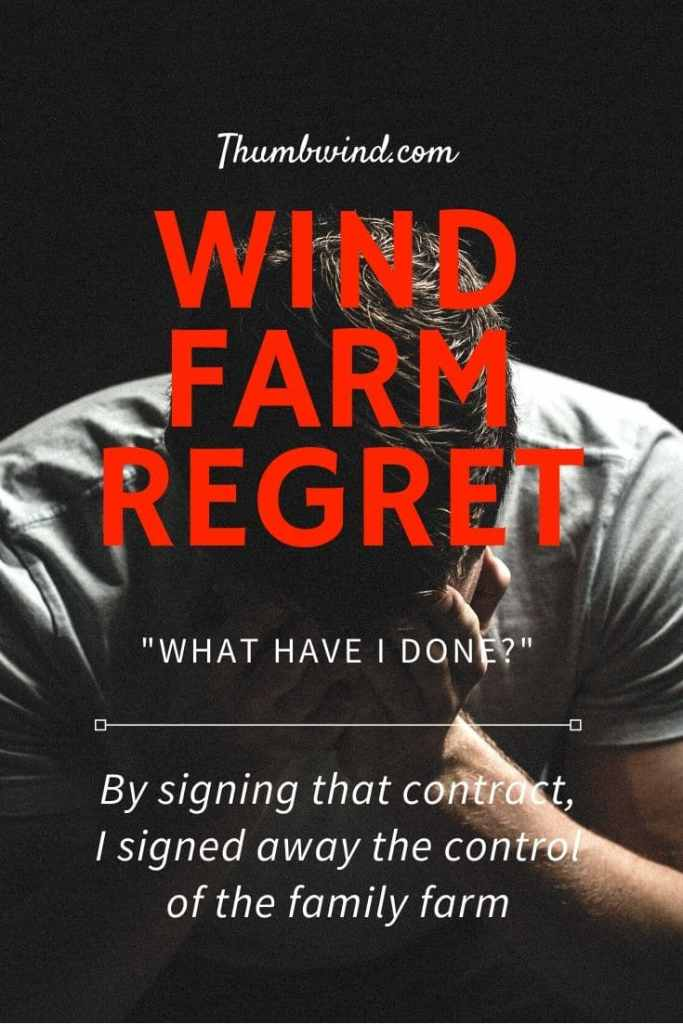 """What Have I Done"" A re-post from 2012 in which a Wisconsin farmer notes "" By  signing that contract, I signed away the control of the family  farm, and it's the biggest regret I have ever experienced and will ever experience."""