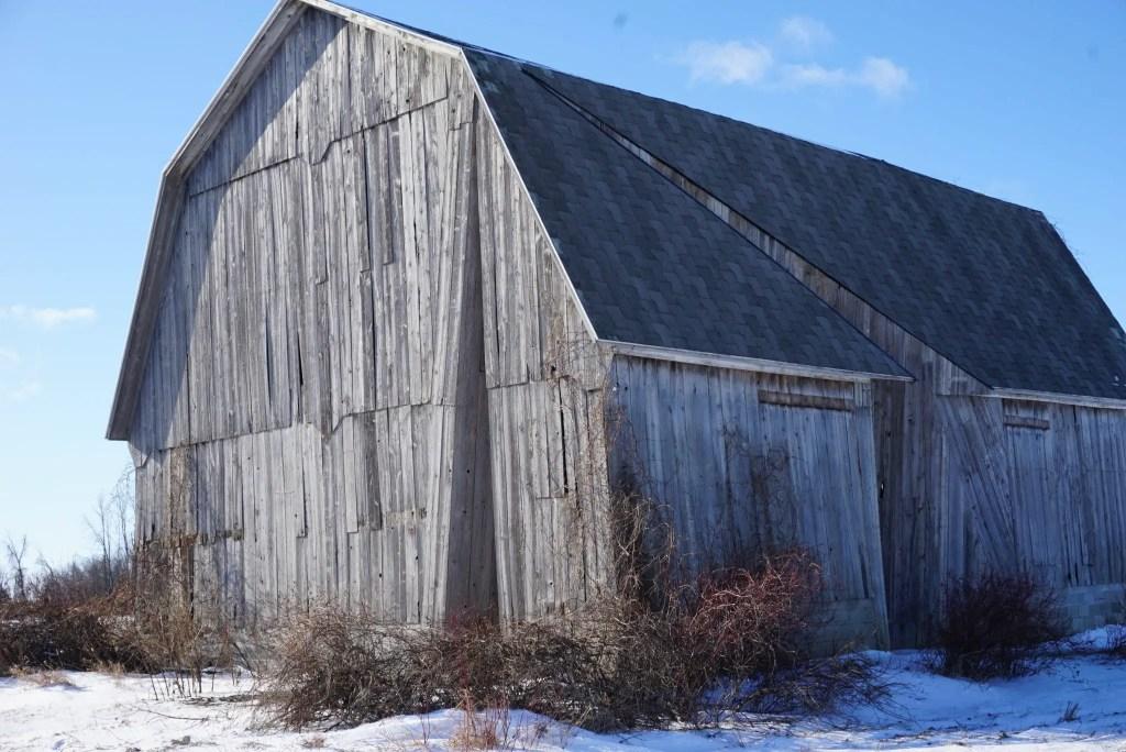 Michigan Barn Art - Secret Sky
