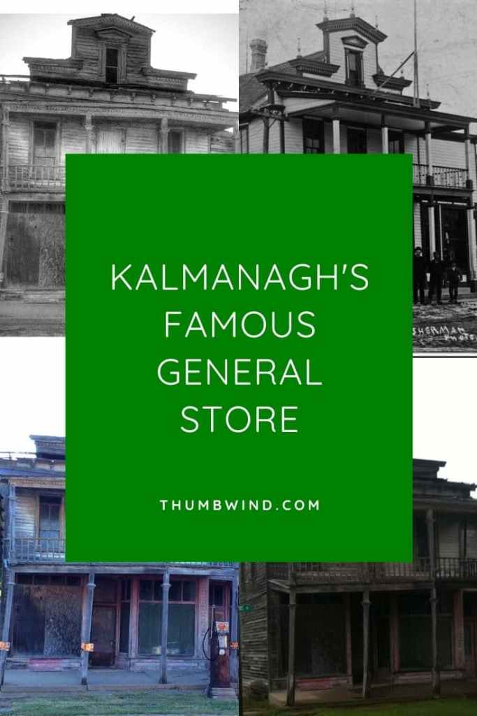Kilmanagh's Famous  Gas Pump - The Thumb's own Kilmanagh   Michigan General Store is iconic. However time has taken its toll on the 1870 structure that sports one of the last 1800's storefront facades. It's now undergoing a restoration.  You can help save it. Find out how.