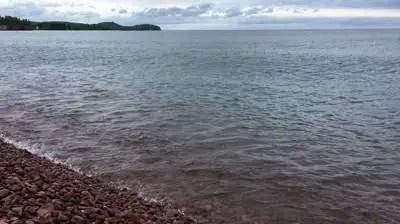 Singing Beach on North Shore Lake Superior