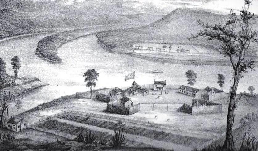 Fort Harmar on the Ohio River - Jacob Parkhurst