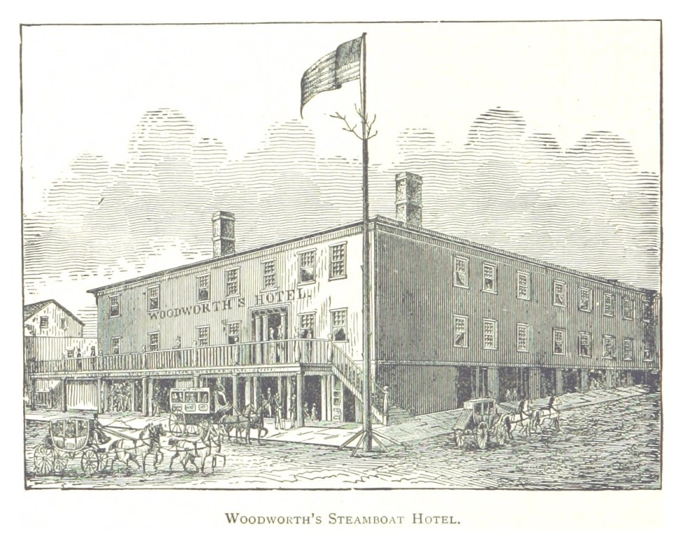 Woodworths Steamboat Hotel - Fortnight In The Wilderness