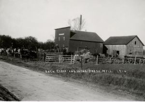Bach Cider Mill and Wine Press 1914