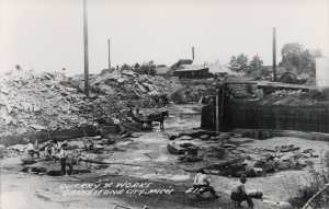 Quarry Works Grindstone City 1920s