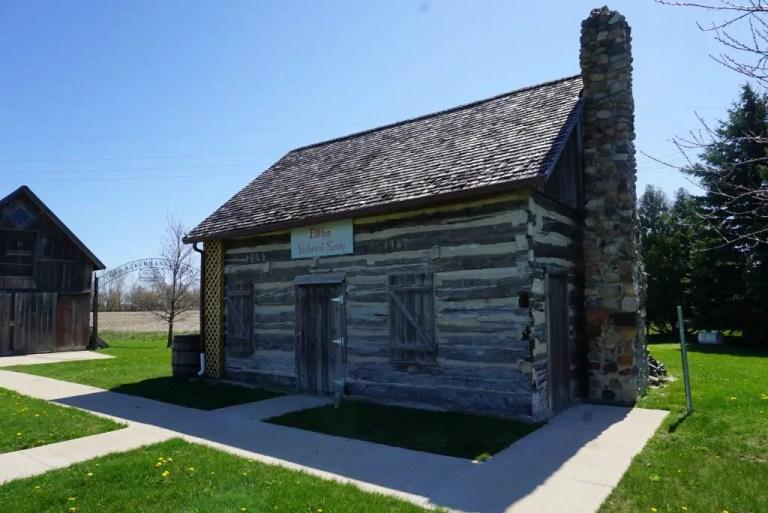 Log Cabin in Elkton Michigan