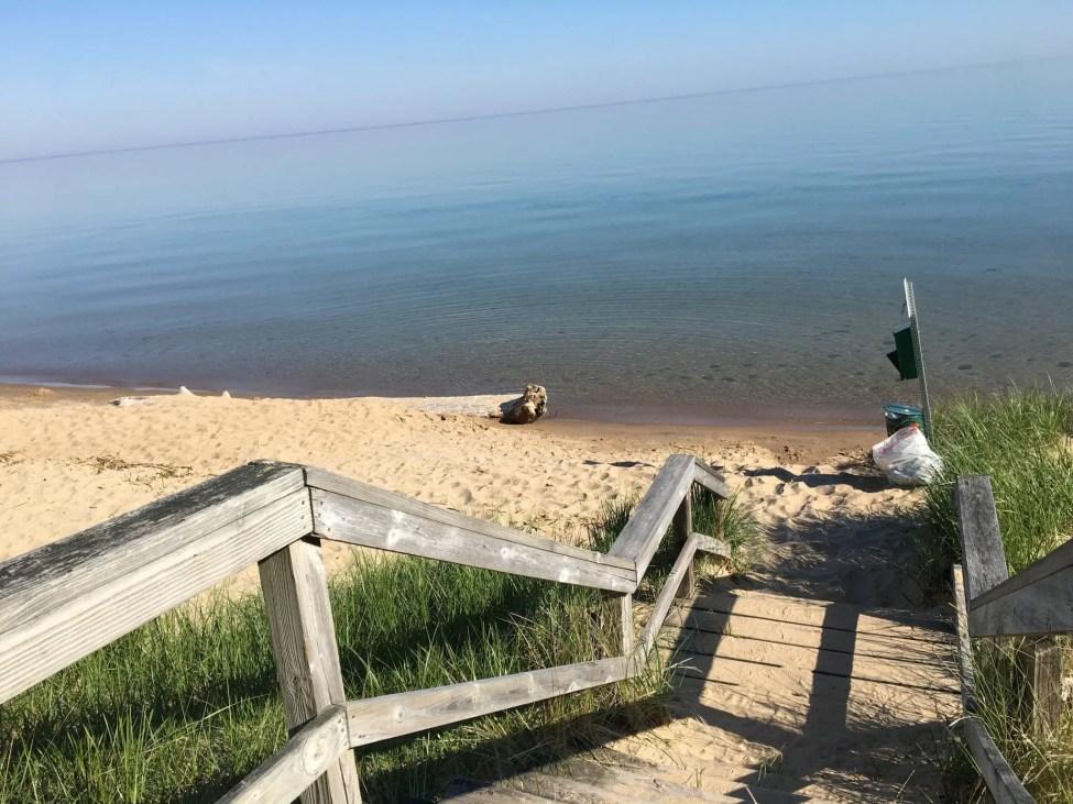 Sleeper Dog Beach Area