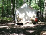 Safari Tent at Sleeper State Park