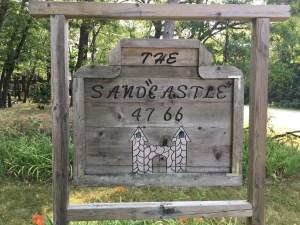 Sandcastle - Cabin Roadside Art