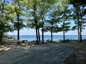 Port Crescent State Park Campground Site 70