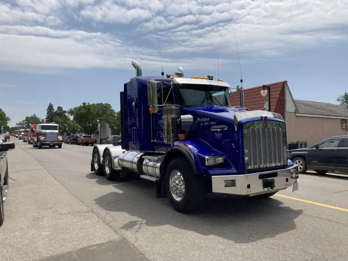 Truck in Port Austin