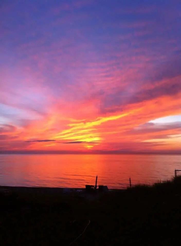 Charity Island Sunset