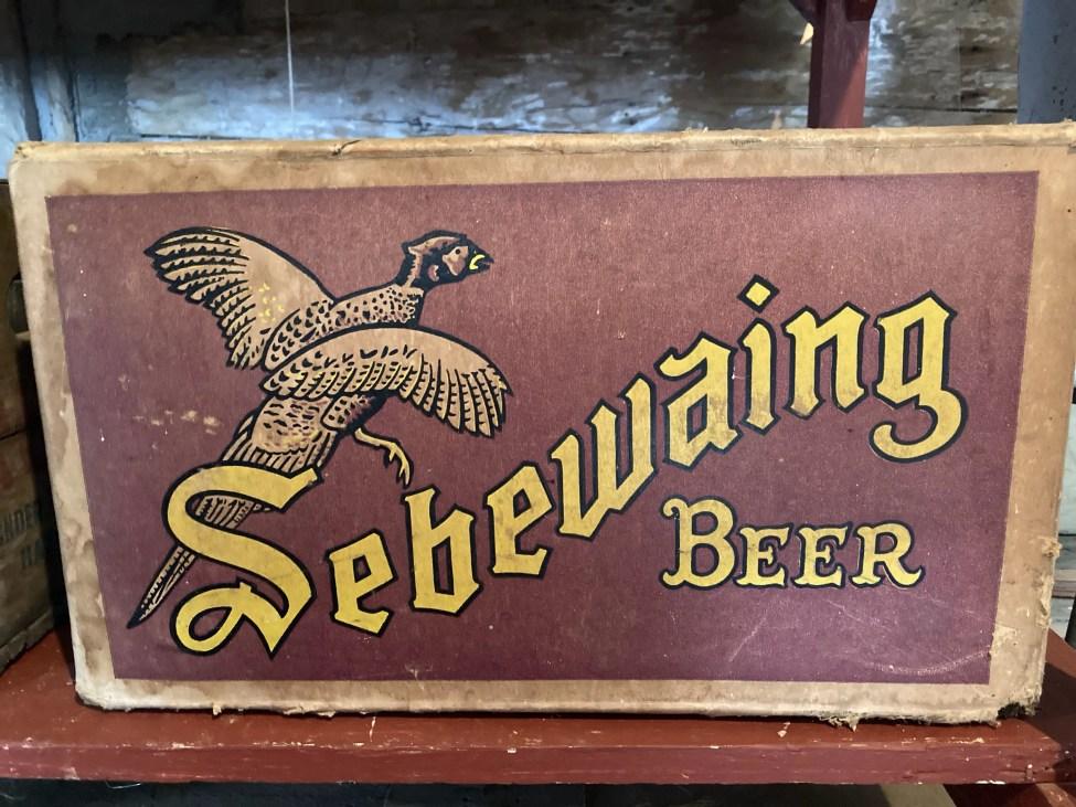 Sebewaing Beer Case