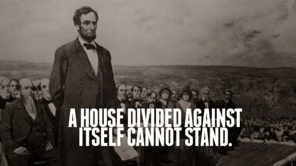 Lincoln House Divided Against Itself