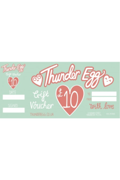 Thunder Egg 10 Pound Gift Voucher