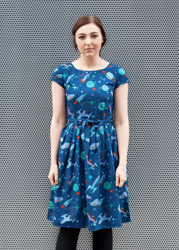Run & Fly - Outer Space Dress