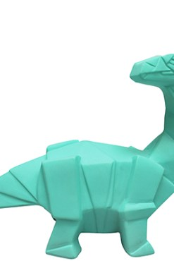 House of Disaster - Mini Turquoise Dinosaur LED Lamp
