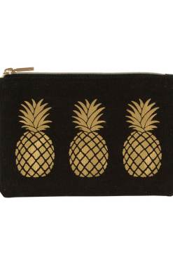 Sass & Belle - Gold Pineapple Coin Purse
