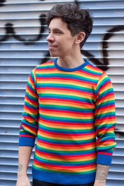 Run & Fly - Unisex Rainbow Bright Jumper