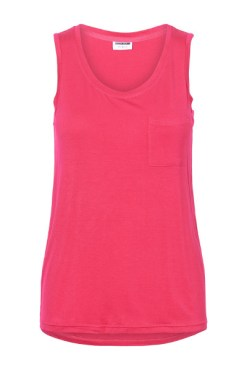 Noisy May - Love Potion Pink Sleeveless Top
