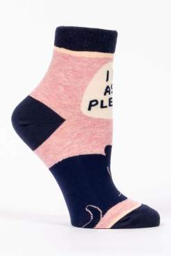 Blue Q - I Do As I Please Ankle Socks