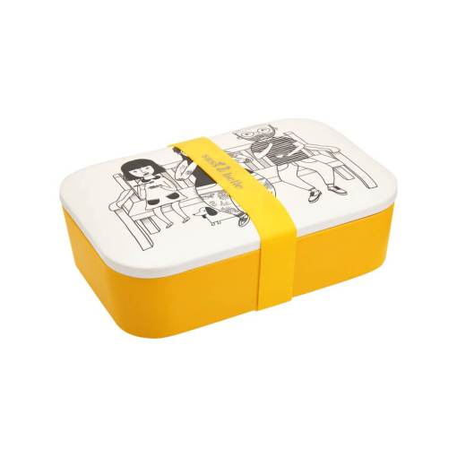Sass & Belle - My Kind of People Bamboo Lunch Box