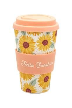 Sass & Belle - Sunflower Bamboo Travel Mug