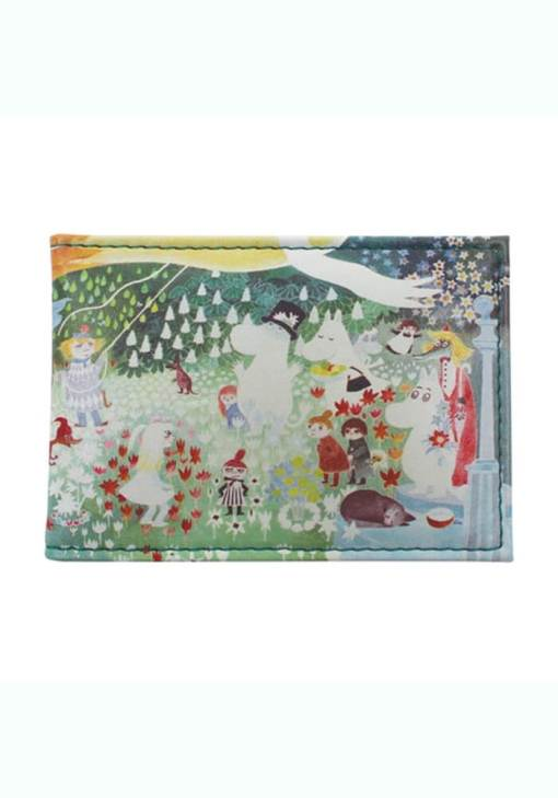 House of Disaster - Moomin Dangerous Journey Travel Pass Wallet