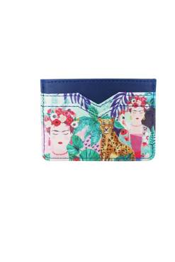 House of Disaster - Frida Kahlo Tropical Card Holder