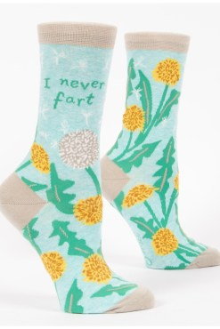 Blue Q - I Never Fart Socks