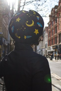 Elleni the Label - Space Beret