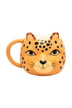 Sass & Belle - Leopard Love Shaped Mug