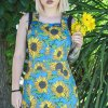 Run & Fly - Twill Sunflower Pinafore