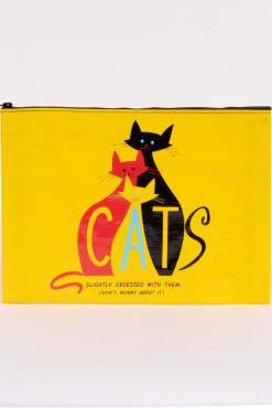 Blue Q - Cats Jumbo Pouch