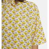 Compañia Fantastica - Pink and Yellow Floral Shirt