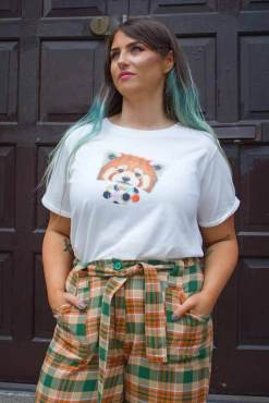 Compañia Fantastica - Red Panda T-Shirt