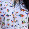 Run & Fly - Rainbow Dinosaur T-Shirt Dress
