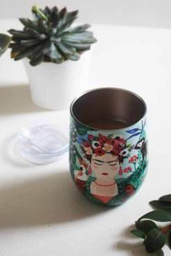 House of Disaster - Frida Kahlo Tropical Eco Travel Cup