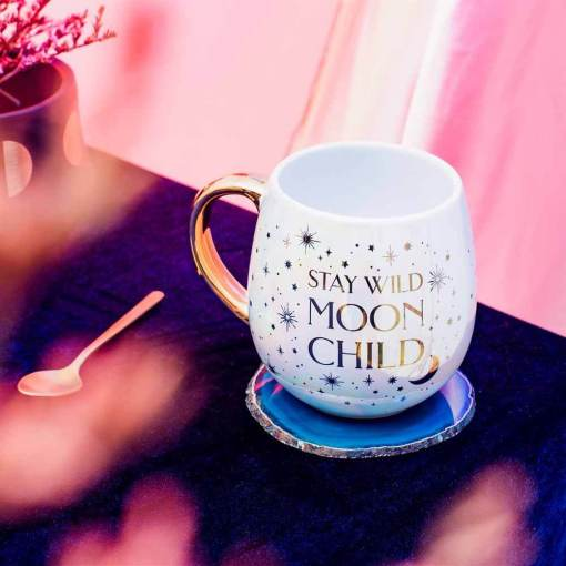 Sass & Belle - Iridescent Moon Child Mug