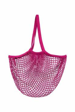 Sass & Belle - Hot Pink String Shopper Bag