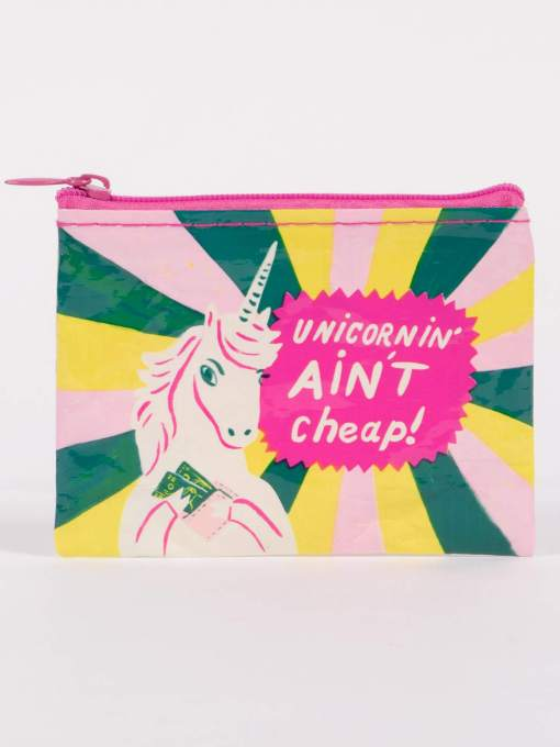 Blue Q - Unicornin' Ain't Cheap Coin Purse