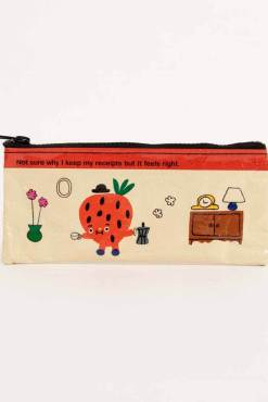 Blue Q - Strawberry Receipts Pencil Case