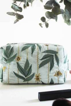 House of Disaster - Eden Embroidered Insect Cosmetic Bag