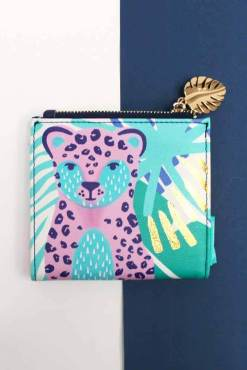 House of Disaster - Savannah Leopard Wallet