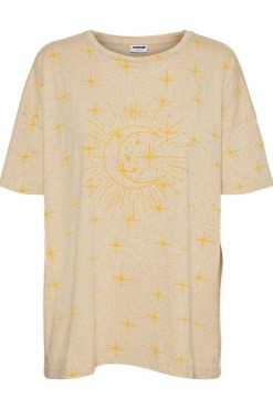 Noisy May - Organic Cotton Oversized Moon T-shirt