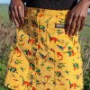 Run & Fly - Rainbow Dinosaur Corduroy Skirt