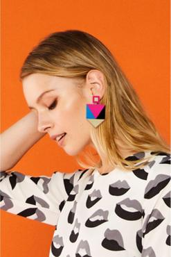 Minueto - Bella Geo Earrings