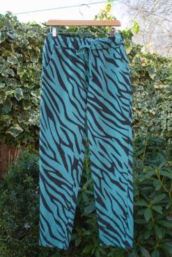 Thunder Egg - Turquoise Tiger Joggers