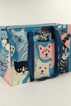 Blue Q - Happy Cats Shoulder Tote