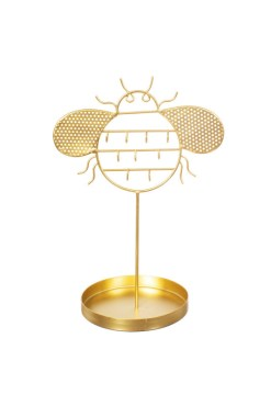 Sass & Belle - Gold Bee Jewellery Stand